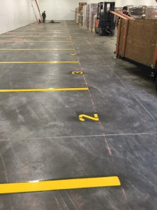 Warehouse Striping in Yakima