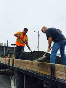 Curbing Vashon Ferry Terminal