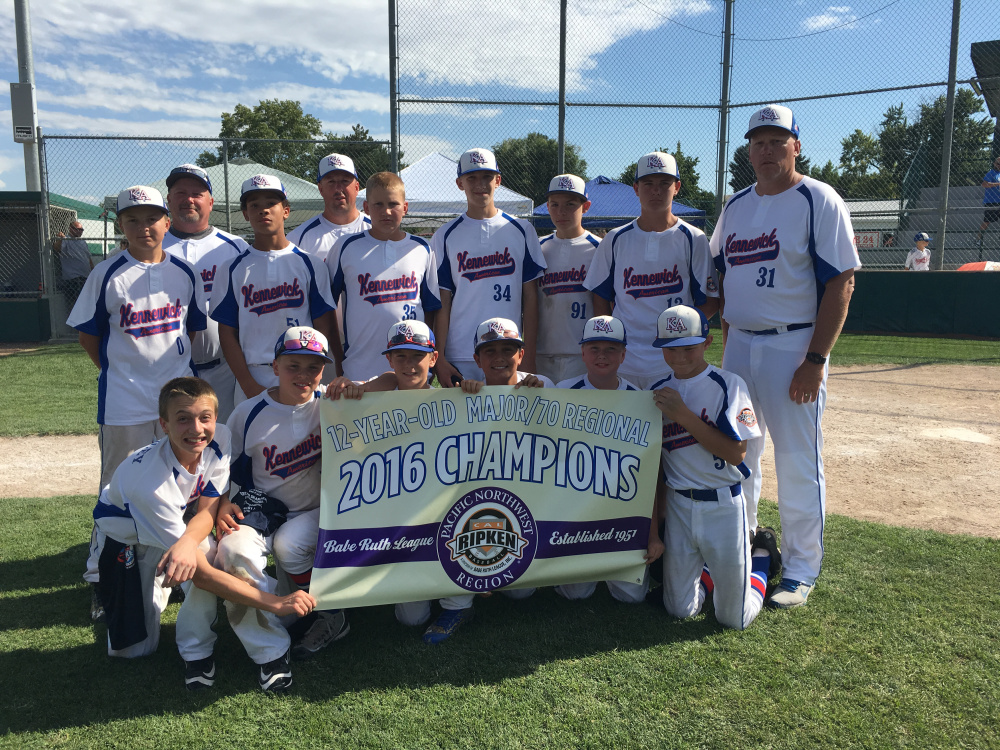 Kennewick Little League Team Goes to World Series With Stripe Rite's Help
