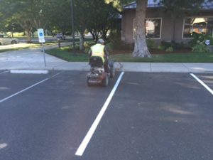 Yakima Parking Lot Striping