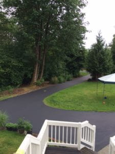 Seal Coat Driveway in Monroe Washington by Stripe Rite