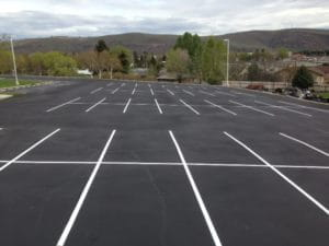 Maintained Parking Lot
