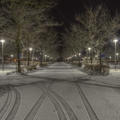 Winterizing Maintained Asphalt Parking Lots
