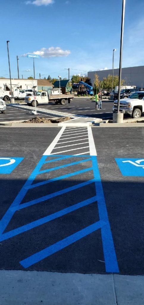 ADA Pavement Marking