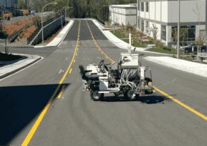 Stripe Rite's Pavement marking equipment