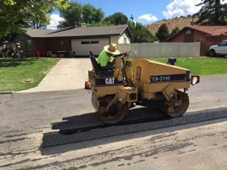 Yakima Asphalt Patch Steamroller